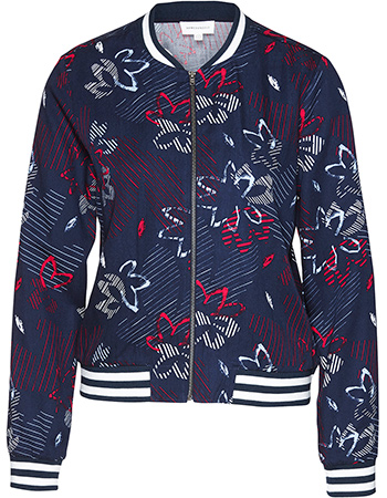 Jas Allover Loya Flower Confusion Navy from watMooi