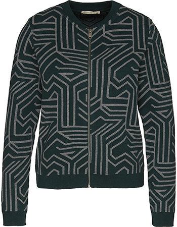 Jas Vest Uta Club Déco Black Grey Melange from watMooi