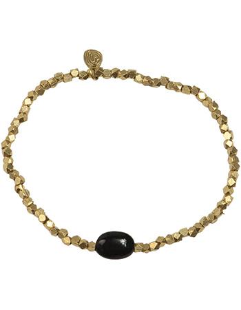 Armband Goud Joy Black Onyx from watMooi