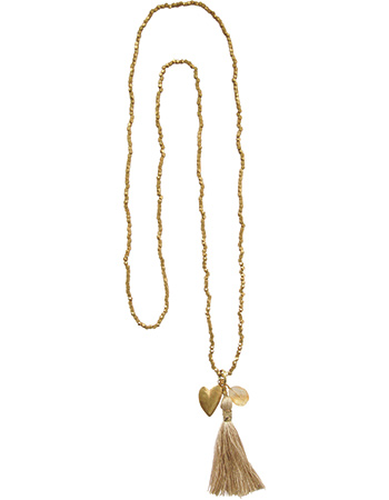 Ketting Bloom Citrine Goud
