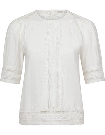 Blouse Top Hewney Off White