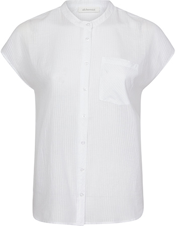 Blouse Top Philippa White