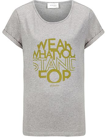 T-shirt Wear Ochre from watMooi