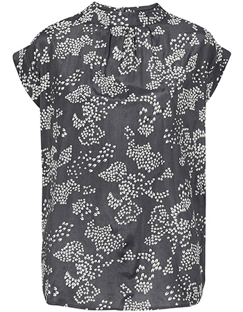 Blouse Leaf Print Antra Leafs from watMooi