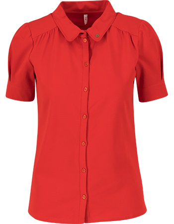 Blouse Logo Strong Red