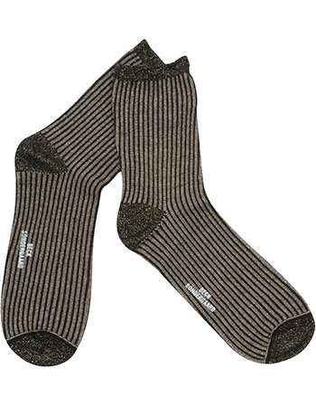 Sokken Dalea Stripe Gold Black from watMooi