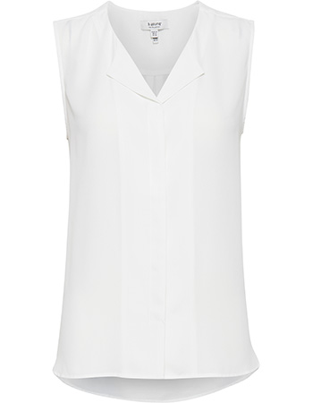 Top Sleeveless Hialice Off White