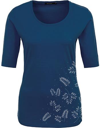 Watmooi t shirt plants falling leaves ocean blue van for Ocean blue t shirt