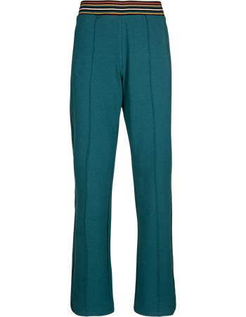 Pantalon Straight Sweat Dragonfly Green from watMooi