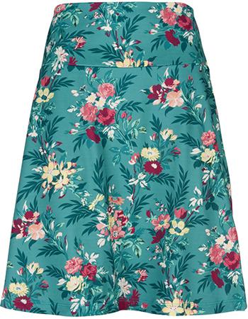 Rok Border Woodrose Emerald Blue from watMooi