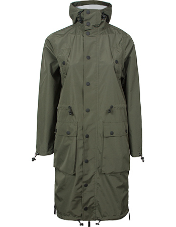 Regenjas Parka Light Weight Army Green