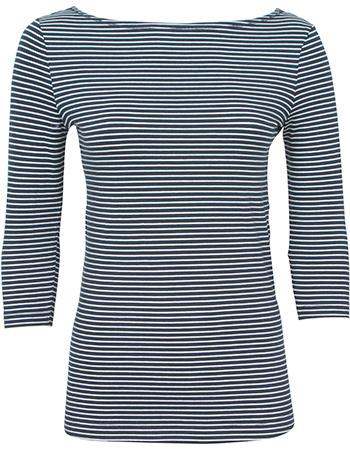 Shirt  Driekwartmouw Viv Breton Stripe from watMooi