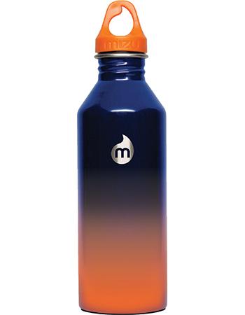 Bidon Mizu Life Glossy Fade Oranje Blauw 800 ml