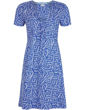 Jurk Ciara Dress Blue from watMooi
