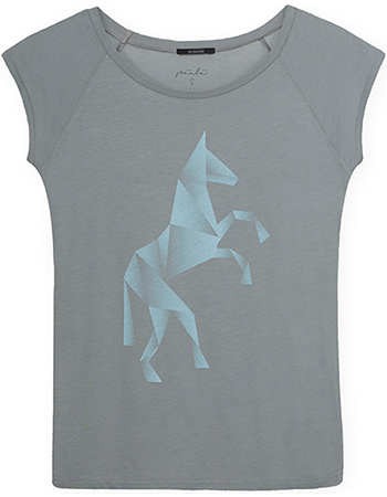 T-shirt Origami Horse Mouse from watMooi