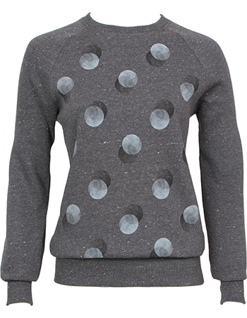 Sweater Double Dots Black Twist from watMooi