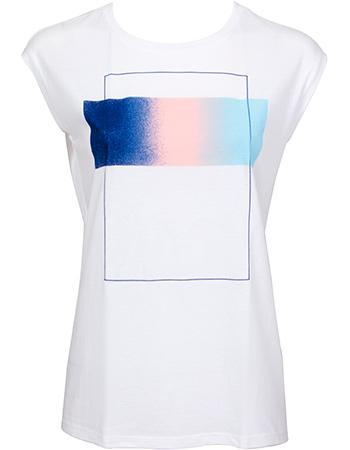 T-shirt Prisma White from watMooi