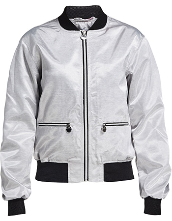 Jas Bomber Blink Silver from watMooi