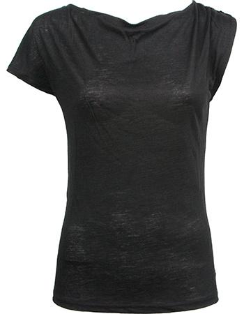 T-shirt Elektra Black from watMooi