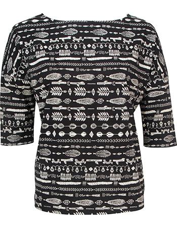 T-shirt Oversized Mesede Black from watMooi