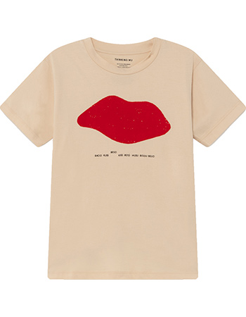 T‑shirt Beso Shelle Creme