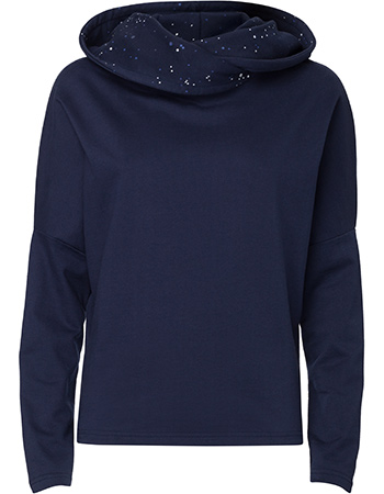Sweater Batwing Hoodie Midnight Galaxy Navy from watMooi