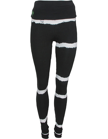 Yoga Legging Shaktified Shunya Black White